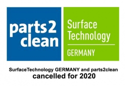 SurfaceTechnology GERMANY i parts2clean anulowane w 2020 roku